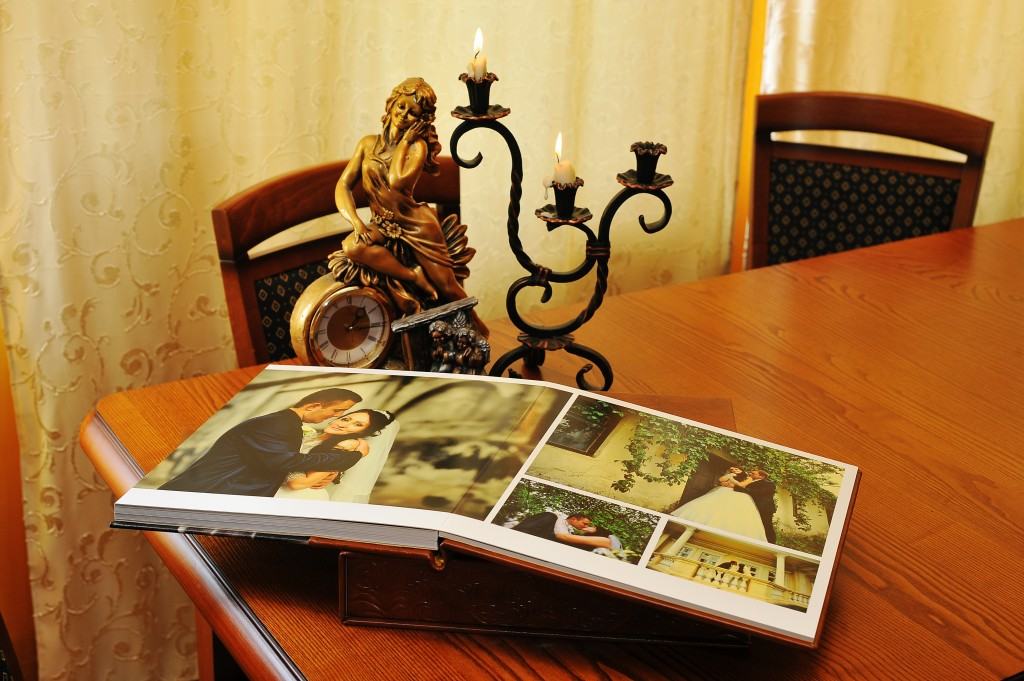 Elegancki album ze zdjęciami